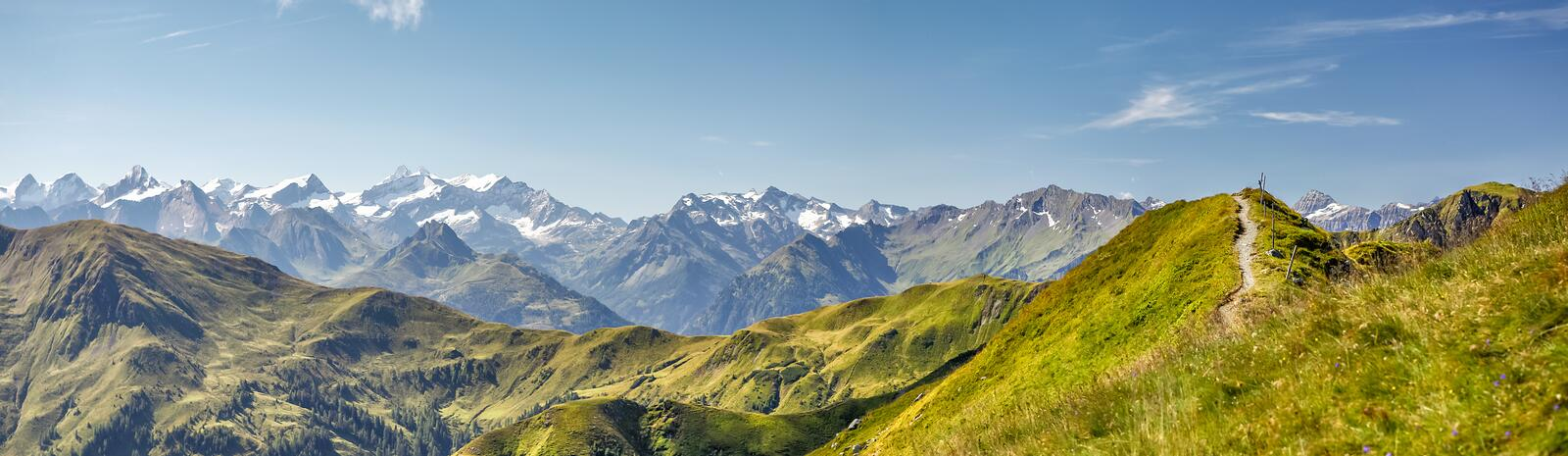 Sommer Wandern Panorama | © Christian Woeckinger