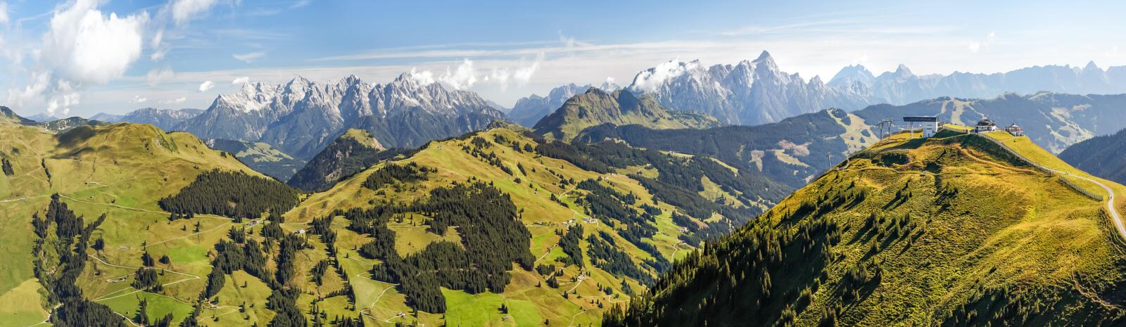 Panorama Saalbach Hinterglemm | © Christian Woeckinger