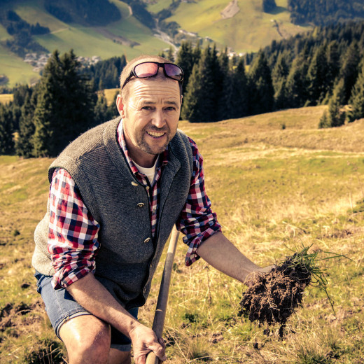 Hans Adelsberger is a passionate farmer | © Edith Danzer